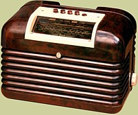 Phillips DAC10 valve radio from about 1950