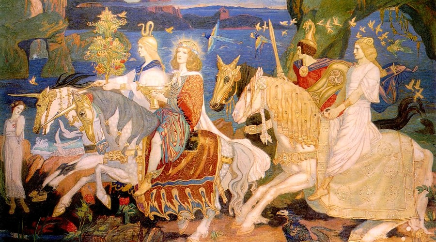 Riders of the Sidhe by John Duncan